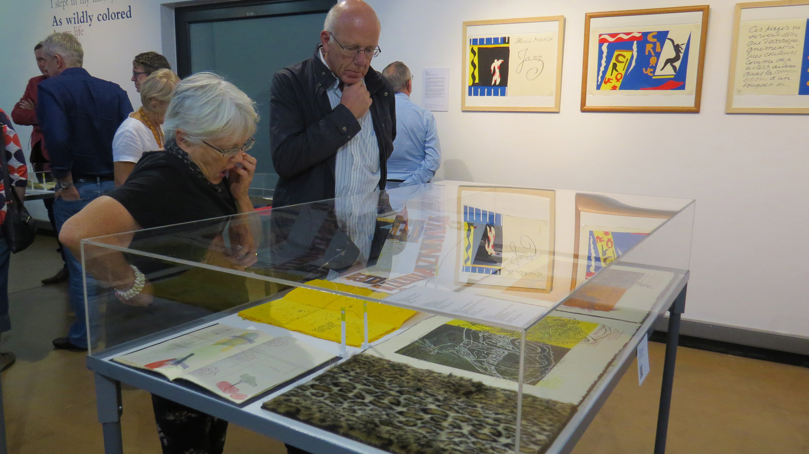Click the image for a view of: Booknesses: Artists Books from the Jack Ginsberg Collection opening. Saturday 25 March