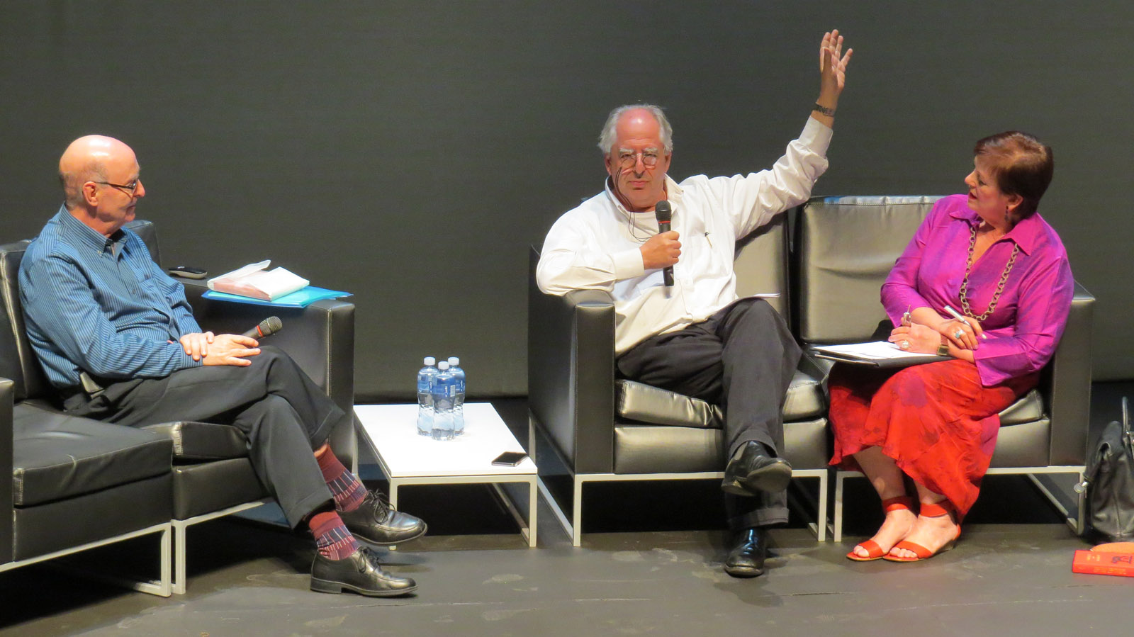 Click the image for a view of: Jack Ginsberg and William Kentridge in Conversation. Sunday 26 March