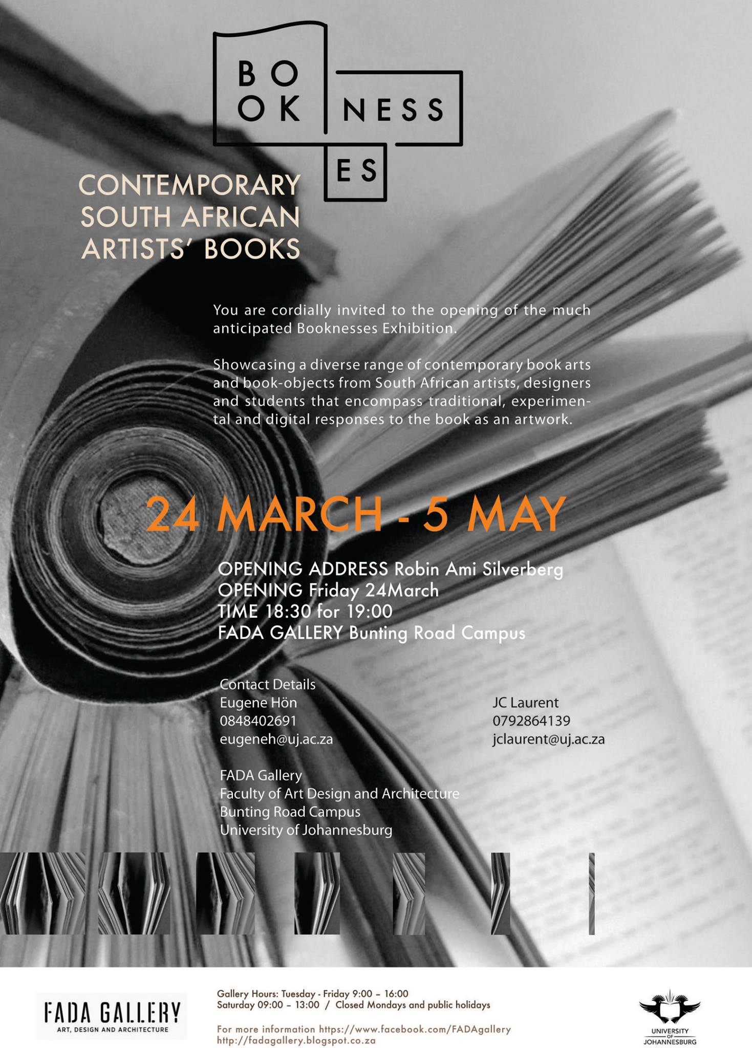 Click the image for a view of: Booknesses: Contemporary South African Artists' Books exhibition - FADA Gallery until 5 May